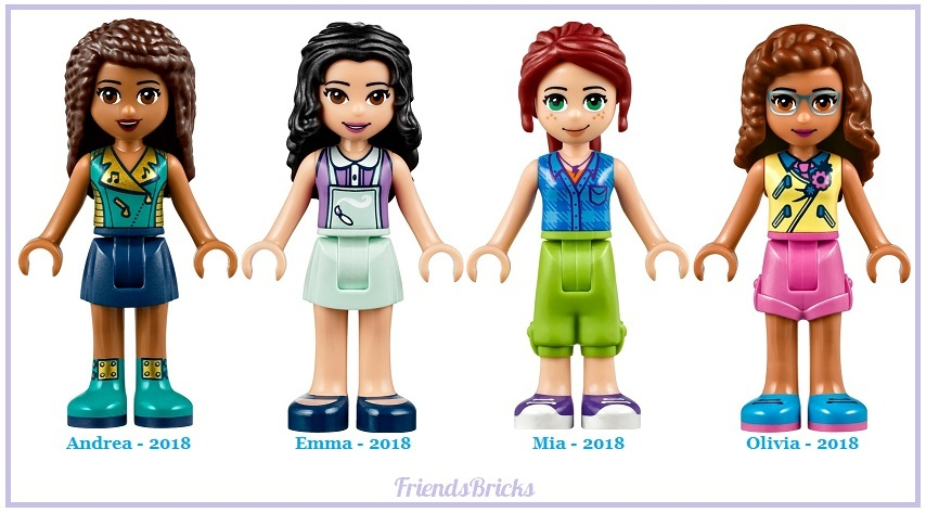 Heartlake Times: Changes to LEGO Friends for 2018