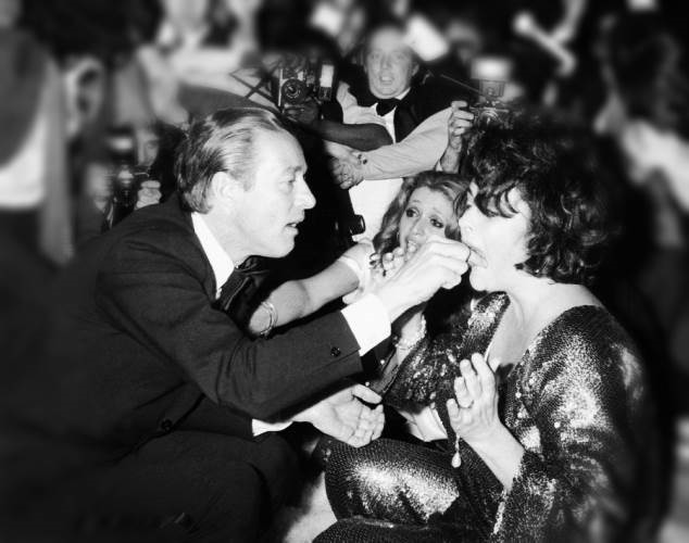 The Scene at Studio 54 Halston Elizabeth Taylor