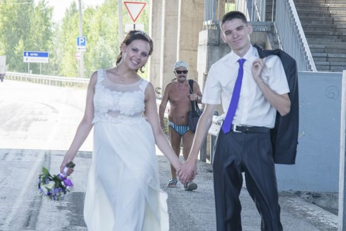 Приколы на свадьбе (50 фото)