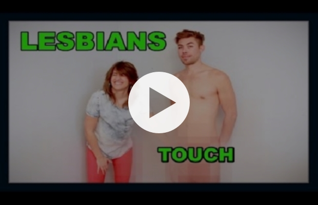 What happened when lesbians touched penis first time