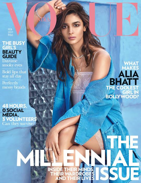 Alia Bhatt features on February cover of Vogue India