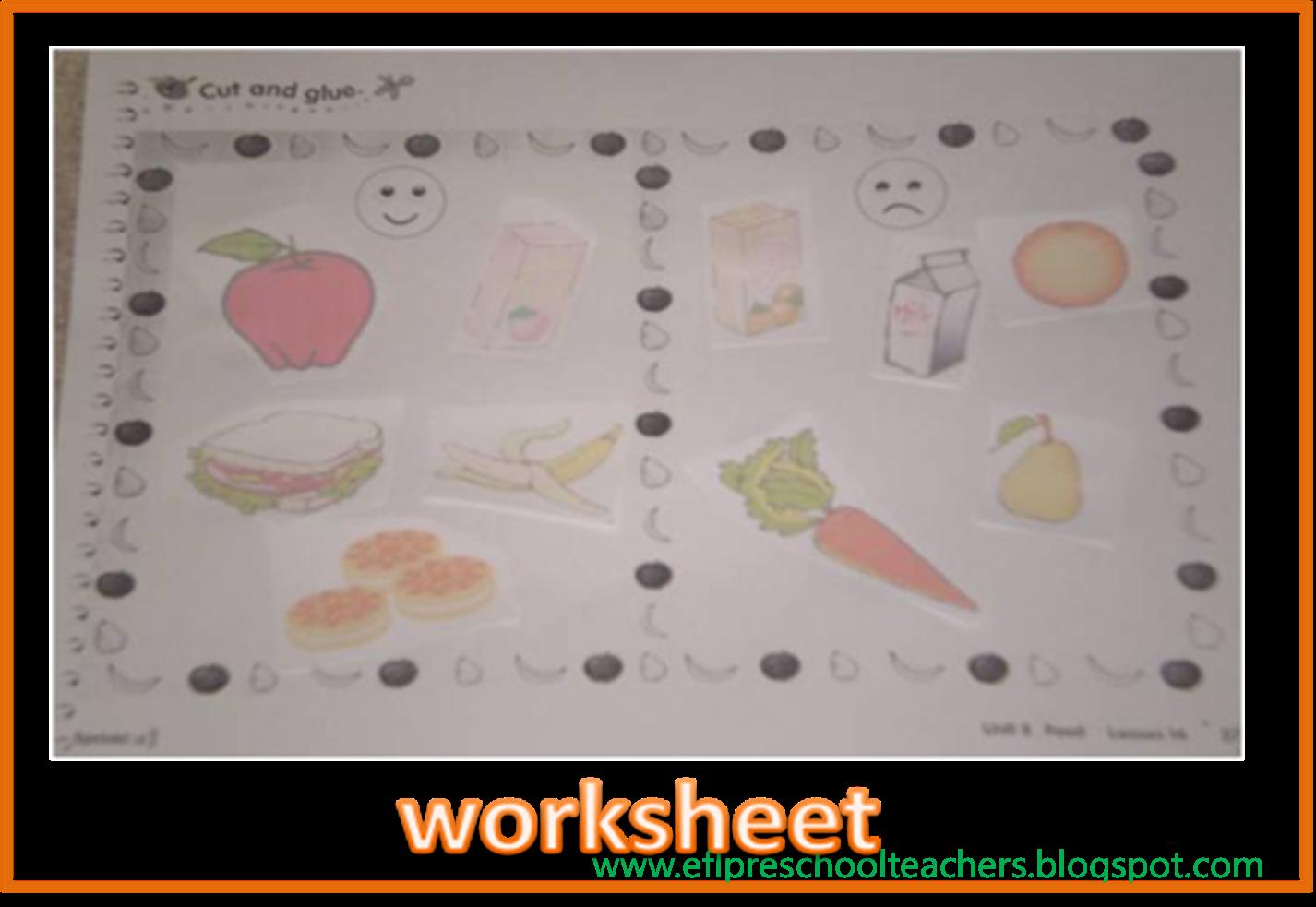 Esl Efl Preschool Teachers Fruit Theme For Preschool Ell