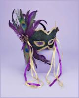 mask feathered