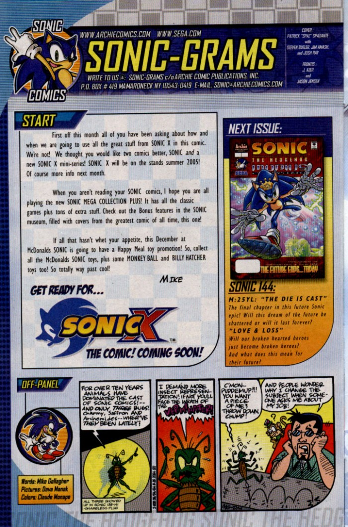 Read online Sonic The Hedgehog comic -  Issue #143 - 29
