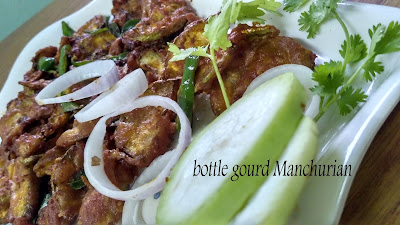 bottle gourd Manchurian recipe | Vegetable Manchurian Recipe