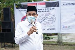 Umar Zunaidi Hasibuan Syukuri Jumlah Qurban Idul Adha 2020 di Tebing Tinggi