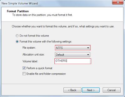 Cara Membagi Partisi Hardisk External Tanpa Software