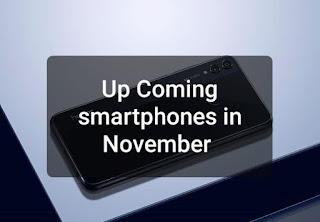 The best smartphones to be launched in the month of November