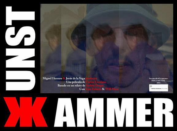 Portada del corto documental Kunnstakammer, de Carlos Escolano, basado en la cinta de Zulueta: Arrebato