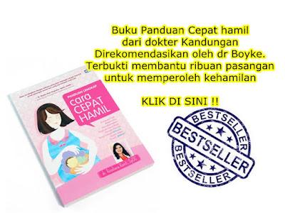 buku panduan agar cepat hamil
