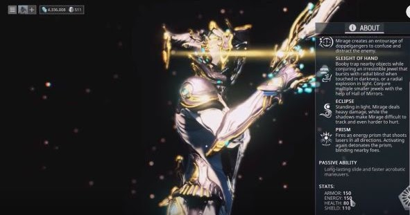 DTG Reviews Warframe Find The Right Relics To Get Mirage Prime For Free