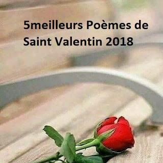 50 meilleurs Poèmes de Saint Valentin 2018