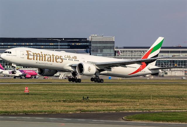 Emirates Boeing 777-300 Extended Range