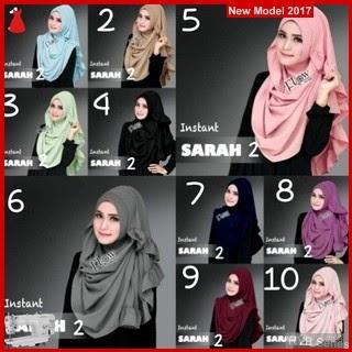 RYB012B Hijab Jilbab Cantik Instant Murah Sarah BMG Online Shop