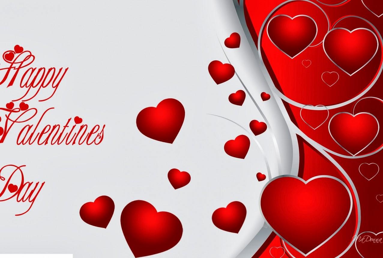 Fondos De Pantalla San Valentin Gratis: Fondo De Pantalla Dia De San Valentin Corazones Rojos