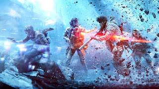 Battlefield 5 Firestorm PS4 Wallpaper