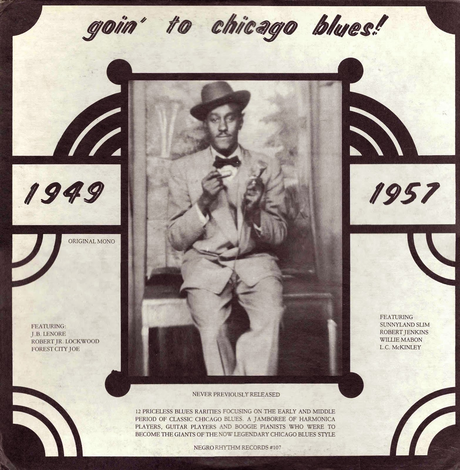 Goin To Chicago Blues