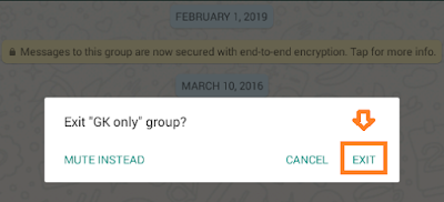 How To Exit Or Leave WhatsApp Group On iPhone/Android | WhatsApp Tips