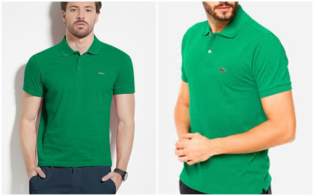 Look masculino para a copa, Camisa polo verde