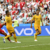 Australia has been eliminated from the World Cup after losing 2-0 to Peru
