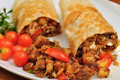 camp burritos rv recipes