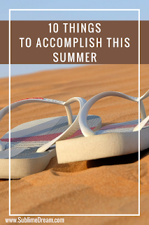 Have any goals or things to accomplish over the summer?  As a your round homeschooler, special needs mom, and work from home mother, here is my list!  I'd love to hear what's on yours!