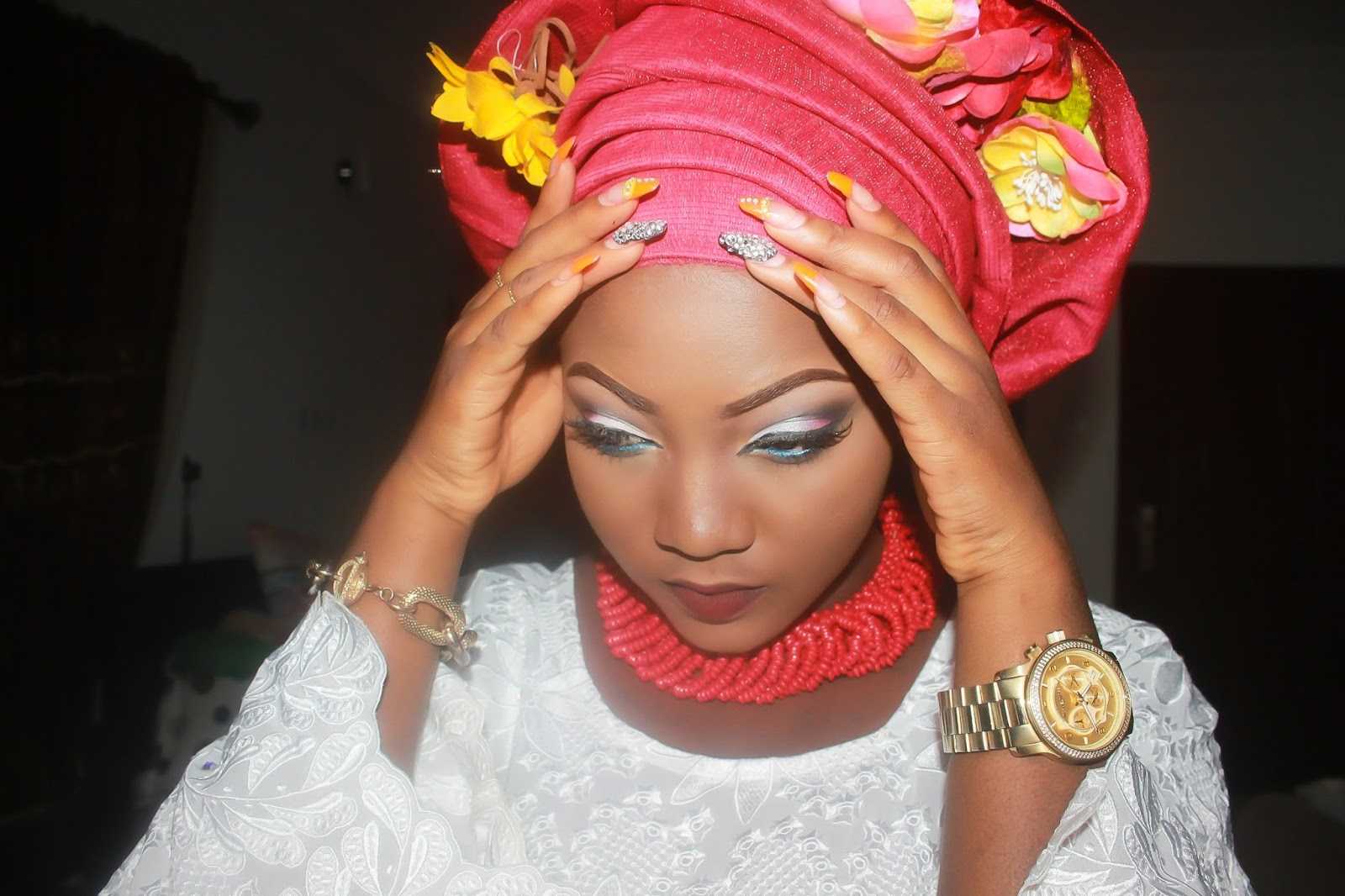 Download video how to tie gele african headtie bc wearing your favorite gele is nice it is even nicer when people as you to come over so they can snap the style for future references ccuart Choice Image