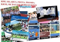 RPP, Silabus,Prota, Promes, KKM KTSP Berkarakter Lengkap Untuk Sekolah Dasar