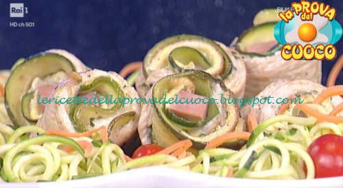 Mini rollè di tacchino ricetta Messeri da Prova del Cuoco