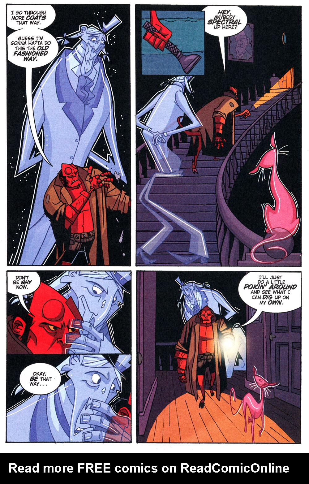Read online Hellboy: Weird Tales comic -  Issue #4 - 24