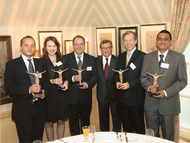WPP Atticus Award Winners 2006 Martin Sorrell group photo