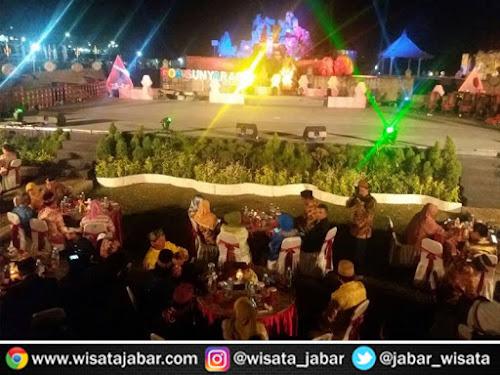 Pembukaan Festival Keraton Nusantara XI di Sunyaragi Cirebon