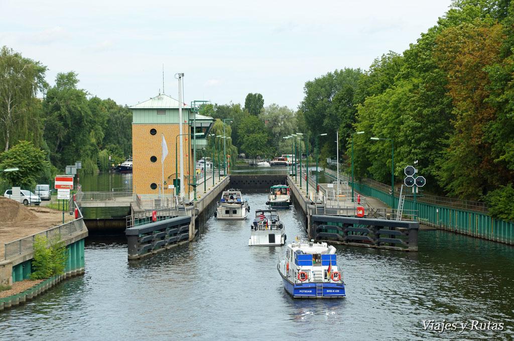 Esclusas del río Havel, Spandau, Berlin