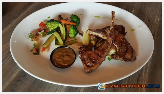 Sticky Grilled Premium Lamb Rack U-Cafe Wangsa Walk