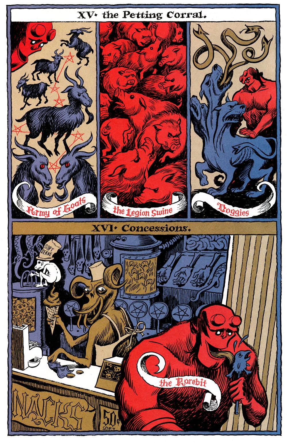 Read online Hellboy: Weird Tales comic -  Issue #6 - 22