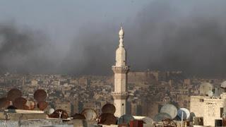 Wallahu Musta'an, Adzan Syiah Mulai Berkumandang di Aleppo Timur