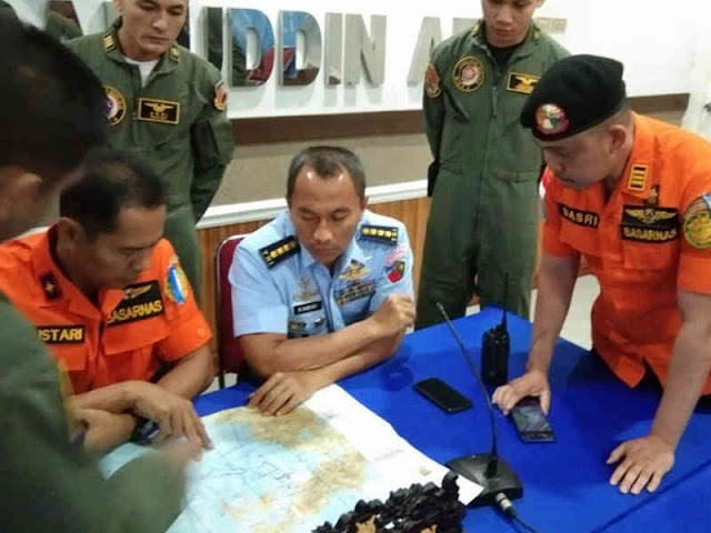 Basarnas Makassar dan Lanud Hasanuddin Cari Tenggelamnya KM Lintas Timur di Laut Banggai