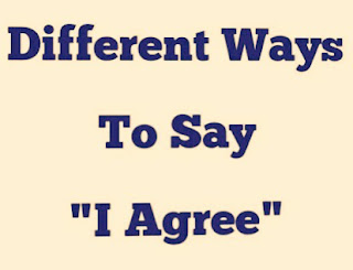 Different Ways of Expressing Agreement in English