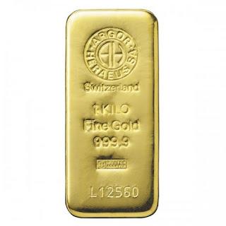Lingote de Oro 1 Kilo = 34895 Euros