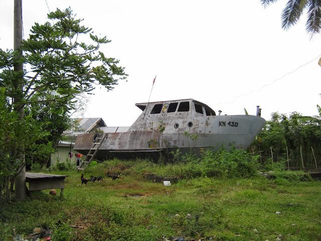 Situs Tsunami Kapal KPLP Malahayati