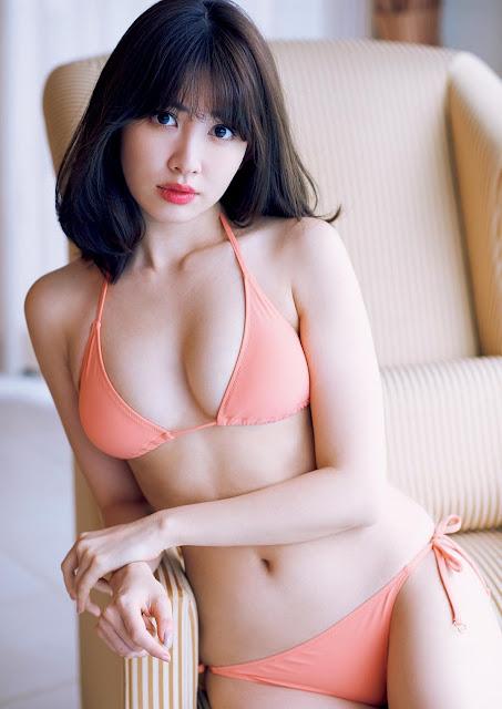 Kojima Haruna 小嶋陽菜 Weekly Playboy April 2017 Pictures