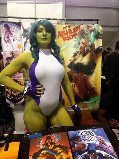 Riot Queen Cosplay - She-Hulk