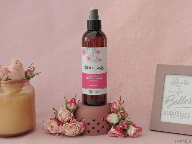 centifolia eau florale rose de damas avis