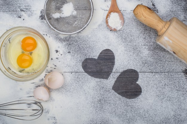 Receta de tortitas especial San Valentín