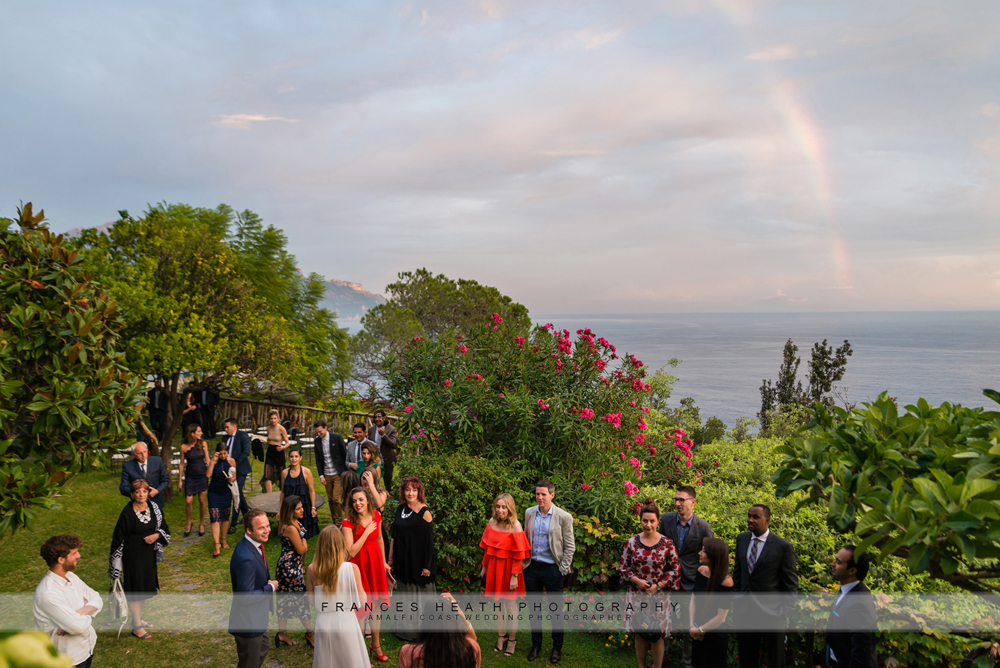 Wedding in hotel Santa Caterina gardens in Amalfi