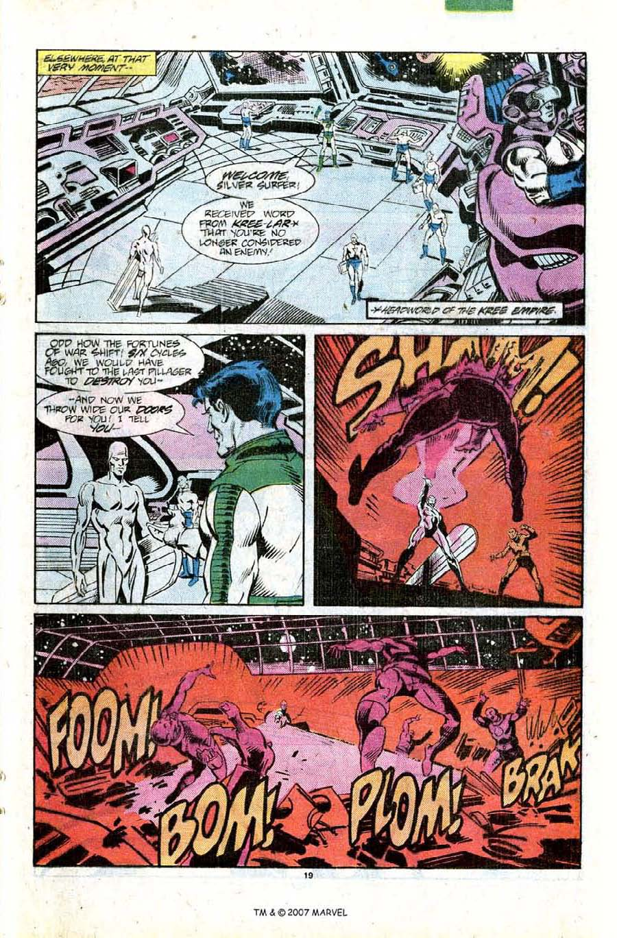 Read online Silver Surfer (1987) comic -  Issue #11 - 21