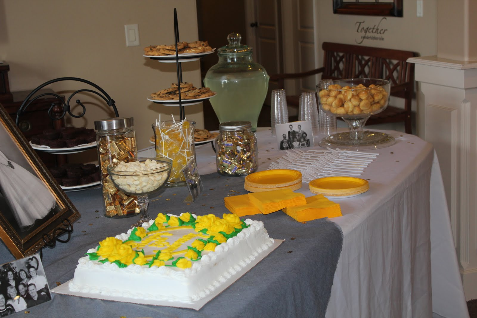 50th Wedding Anniversary Party: LDS Mom: 50th Anniversary Party