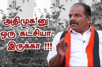 ADMK is Zero in R.K Nagar ! | DMK Candidate Marudhu Ganesh Interview