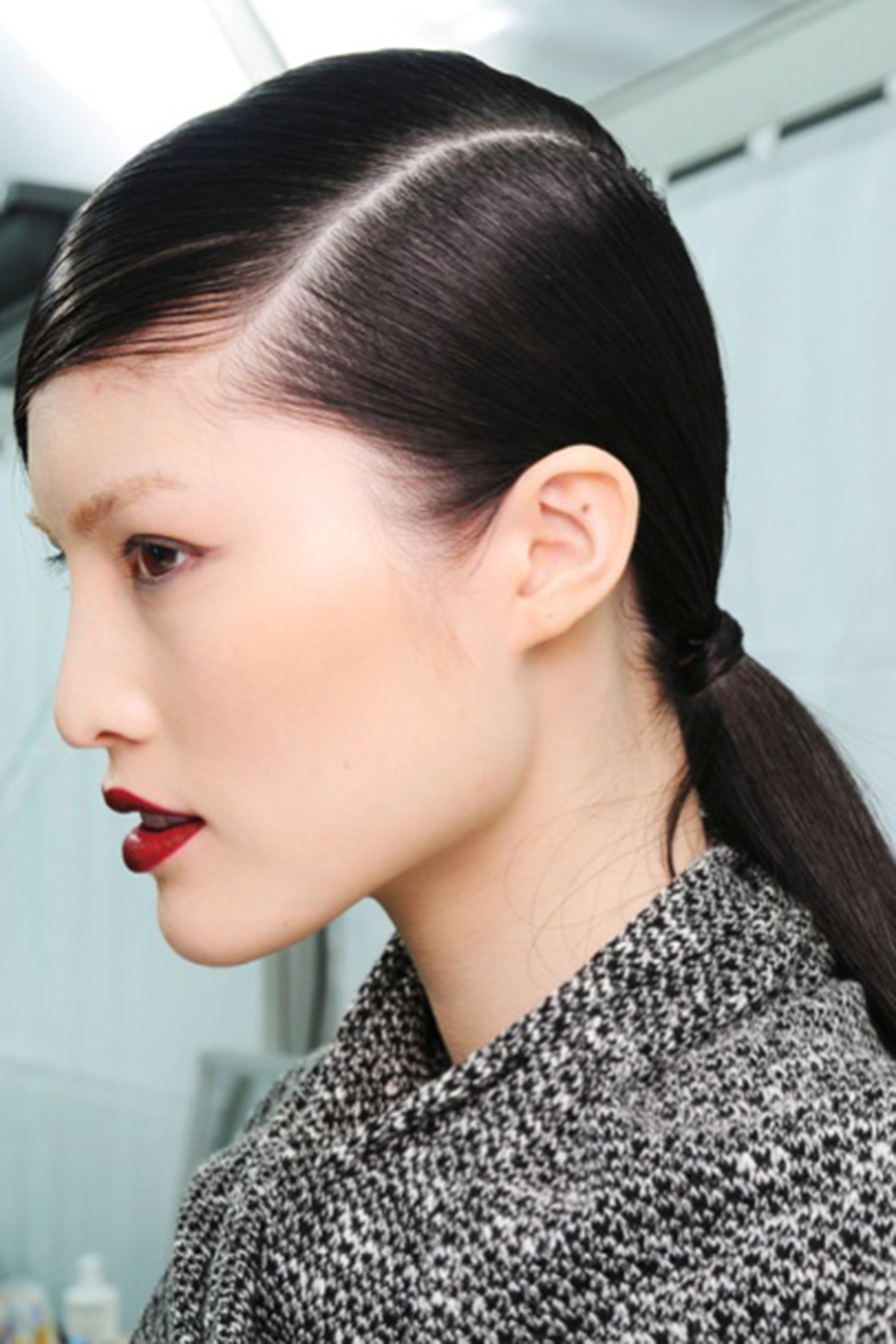 Sleek Side Part