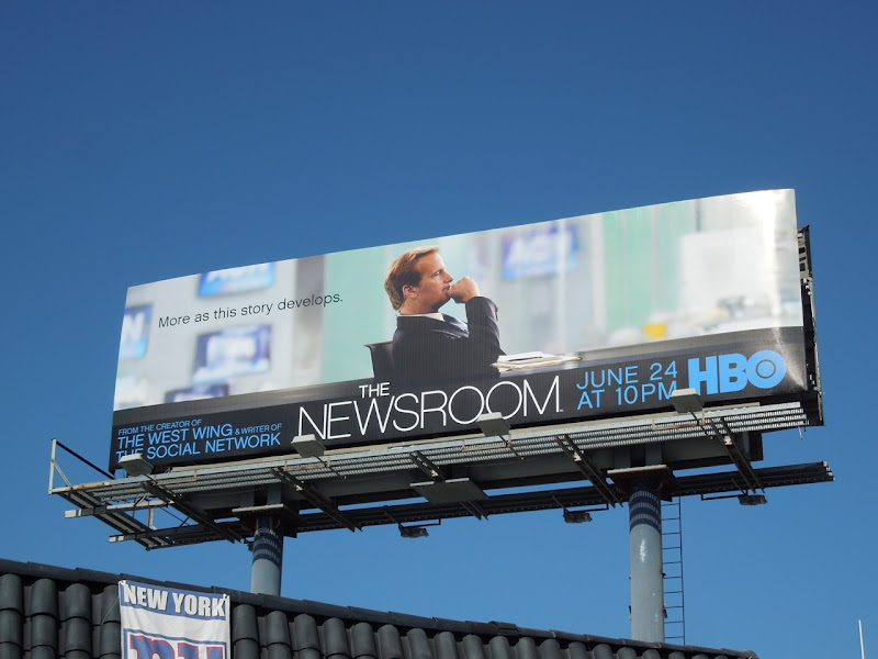 Newsroom HBO season 1 billboard